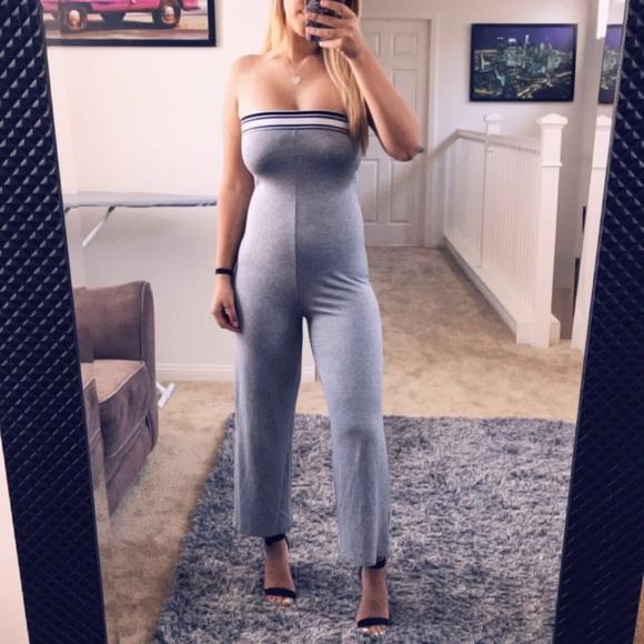 Pants - Grey Jumpsuit